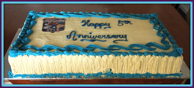 The 5th Anniversary - July 2011