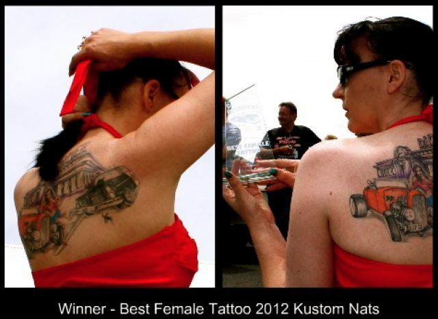 Winner best female Tattoo - 2011 & 2012