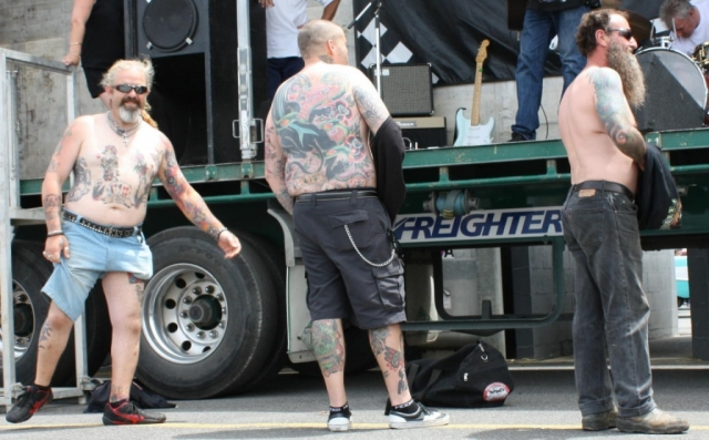 Best Male tattoo entrants - 2012